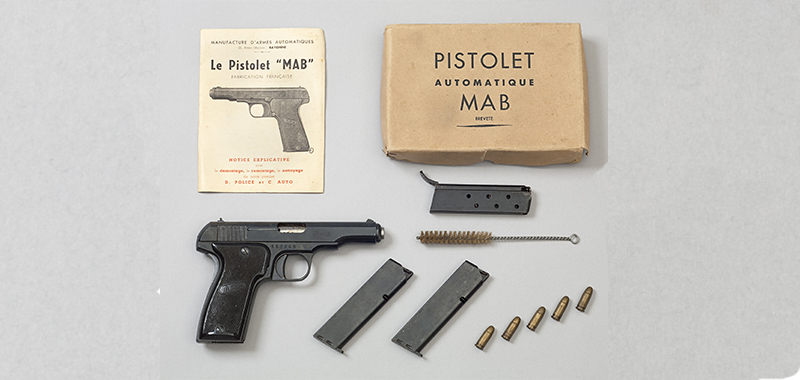Pistolet semi-automatique MAB